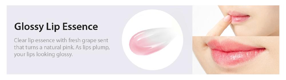 Son Dưỡng Môi Chiết Xuất Mật Ong Nho FRUDIA Grape Honey Chu Lip Essence làm căng bóng môi