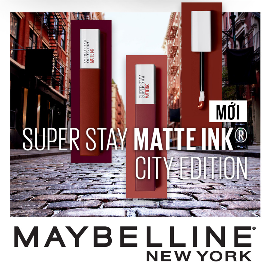 Son Kem Lì 16h Lâu Trôi Maybelline Superstay Matte Ink Limited Edition 5ml