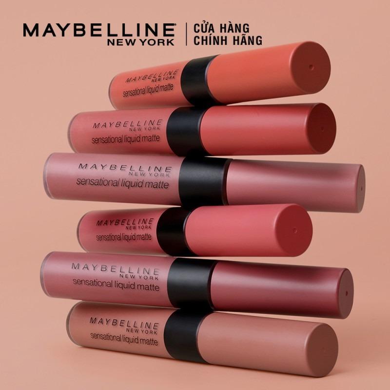 Son Kem Lì Nhẹ Môi Maybelline Sensational Liquid Matte Lipstick