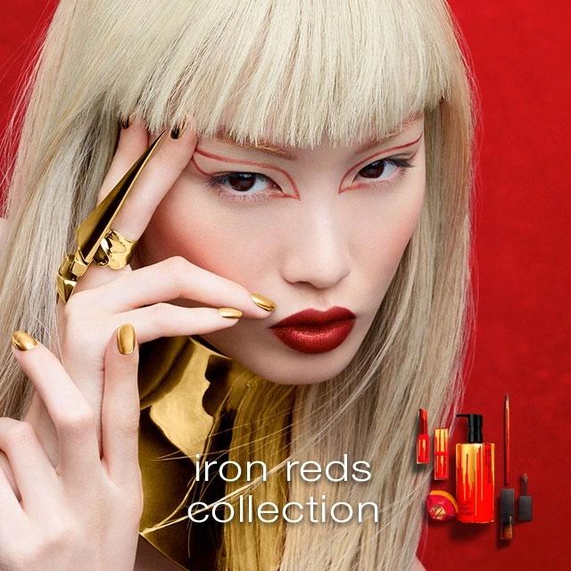 Bộ Sưu Tập Shu Uemura Iron Reds Collection