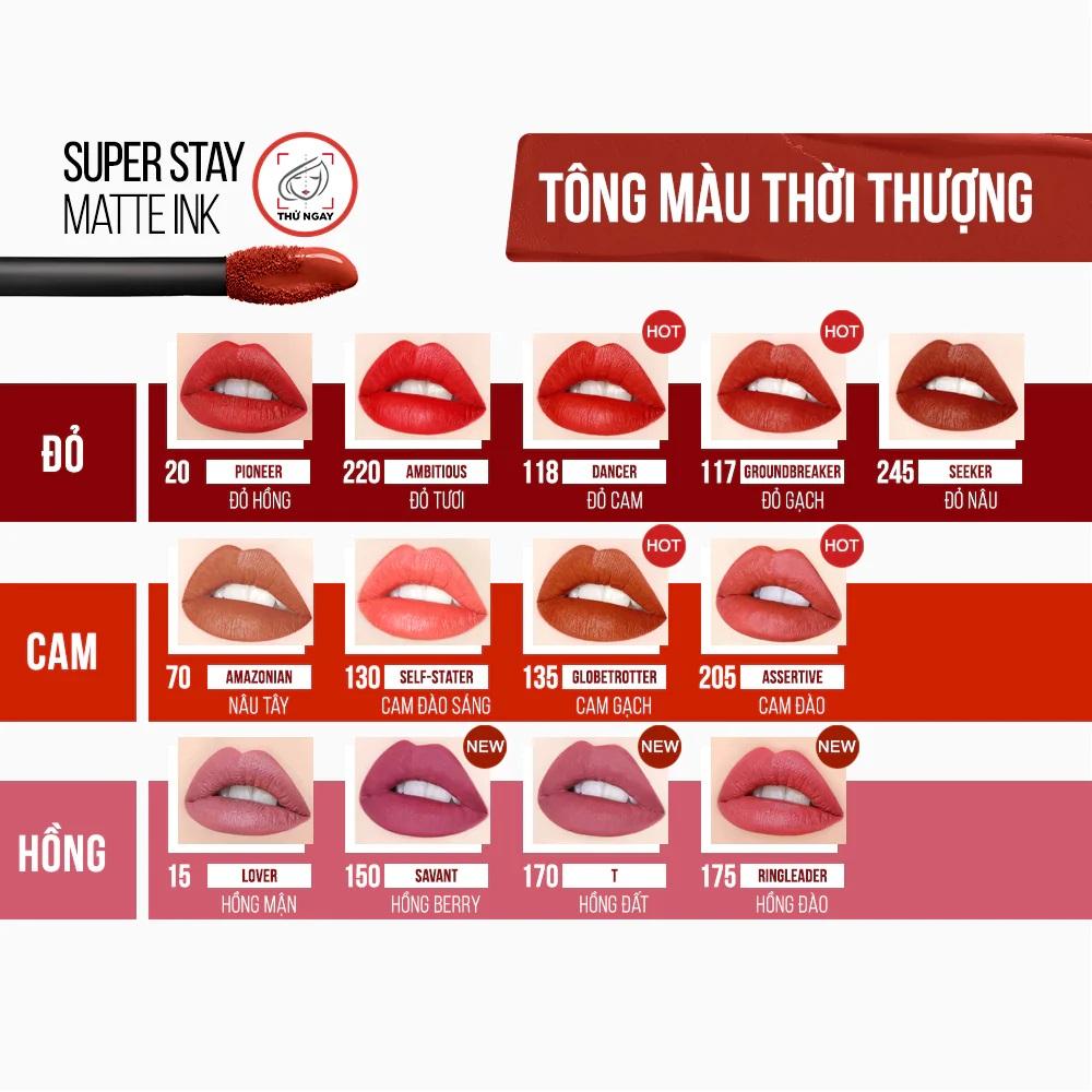 Son Kem Lì Superstay Matte Ink Liquid Lipstick X Pinks Edition 5ml