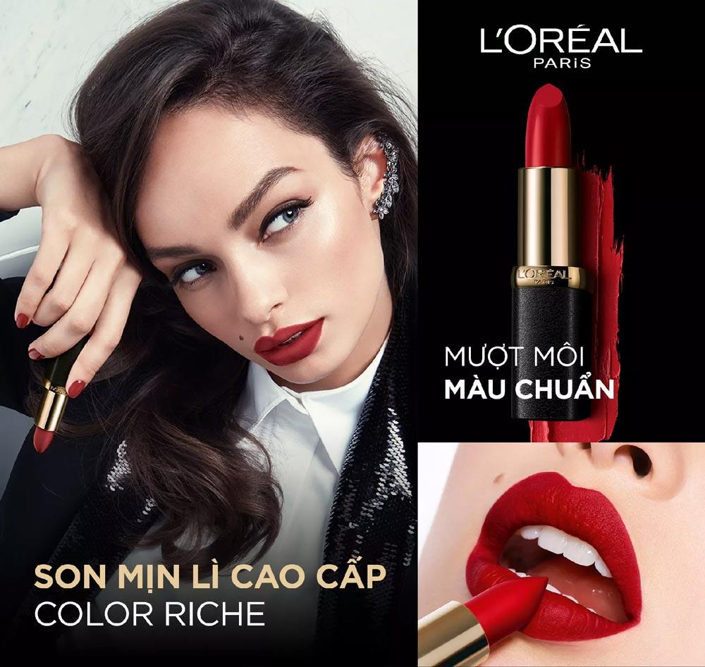 Son Mịn Lì Cao Cấp L'Oréal Paris Color Riche Matte