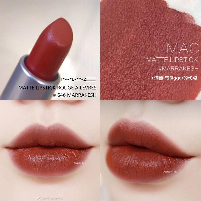 Review Son Mac Matte Lipstick: Bám Môi, Mịn Và Lên Màu Cực Xinh