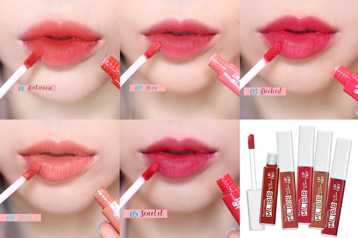 Son Tint Lì SILKYGIRL MLBB Lip Tint tạo cảm giác dễ chịu khi thoa lên môi