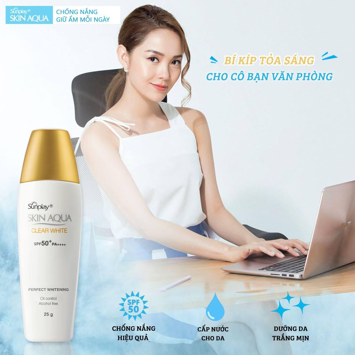 Sữa Chống Nắng Sunplay Dưỡng Da Sáng Mịn 55g | Hasaki.vn