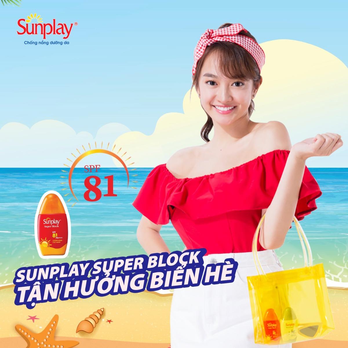 Sữa Chống Nắng Dưỡng Da Sunplay SPF81 PA++++ 30g Super Block