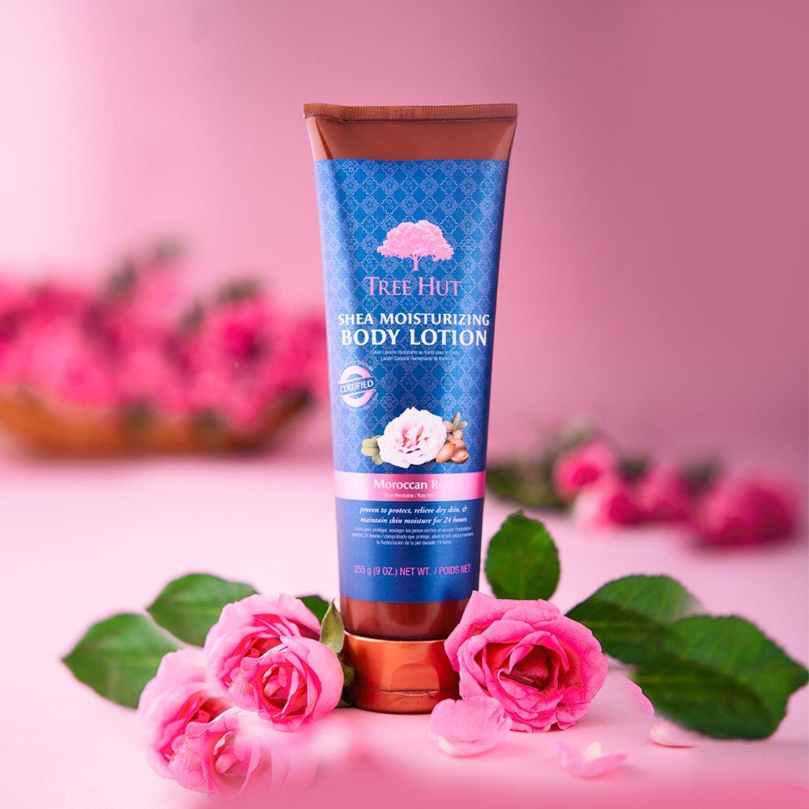 Sữa dưỡng thể Shea Moisturizing Body Lotion Moroccan Rose hương Hoa Hồng