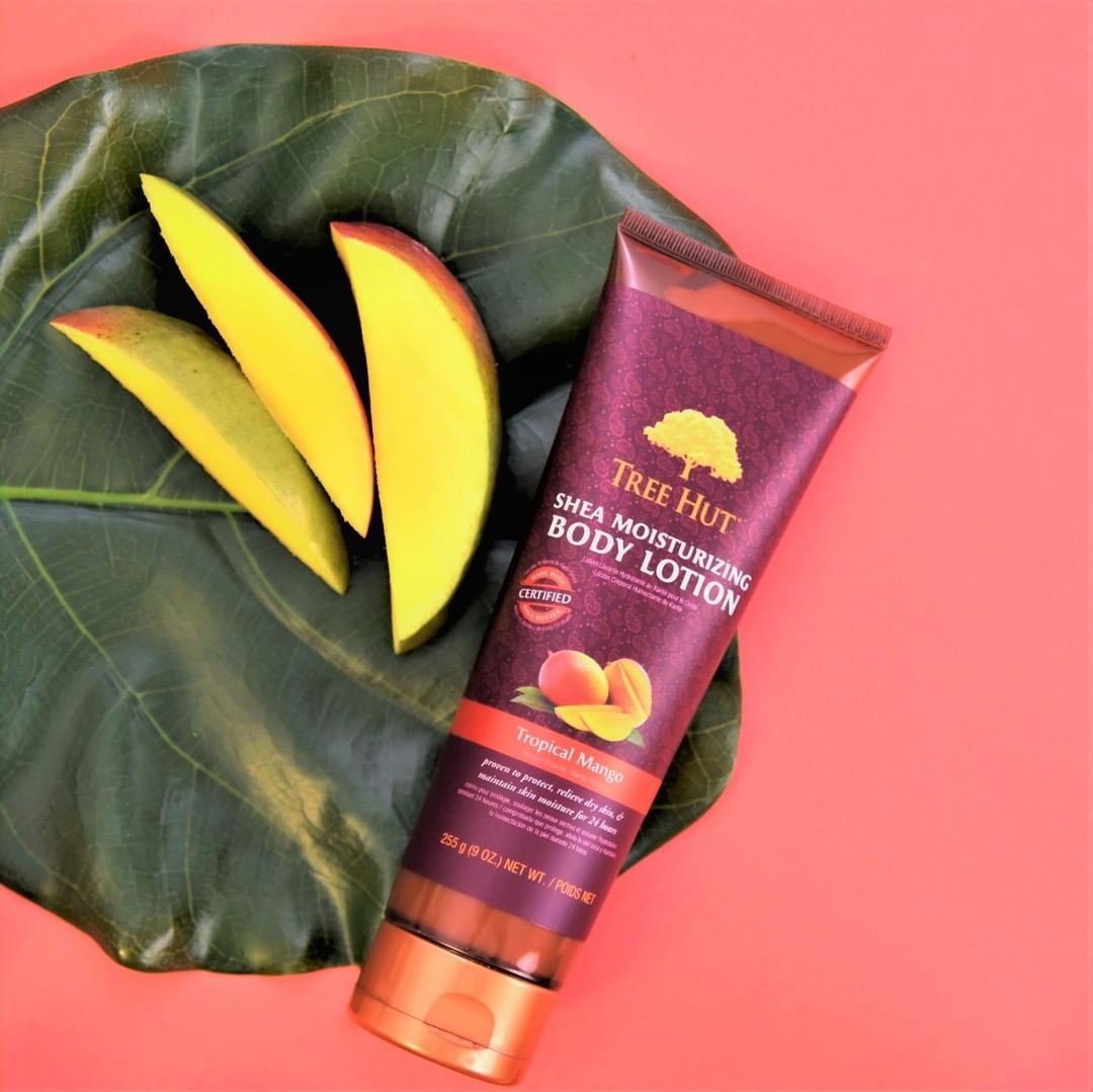 Sữa dưỡng thể Shea Moisturizing Body Lotion Tropical Mango hiện đã có mặt tại Hasaki