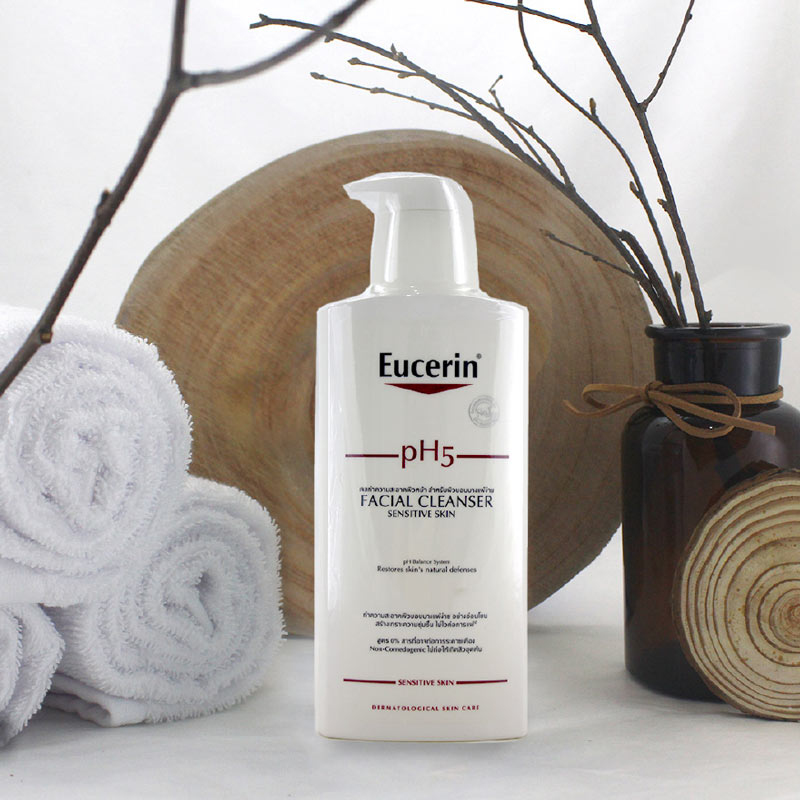 Sữa Rửa Mặt Eucerin Facial Cleanser PH5 Sensitive Skin Cho Da Nhạy Cảm 400ml hiện đã có mặt tại Hasaki