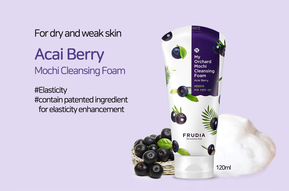 Sữa Rửa Mặt FRUDIA My Orchard Cleansing Foam chiết xuất Trái Mọng