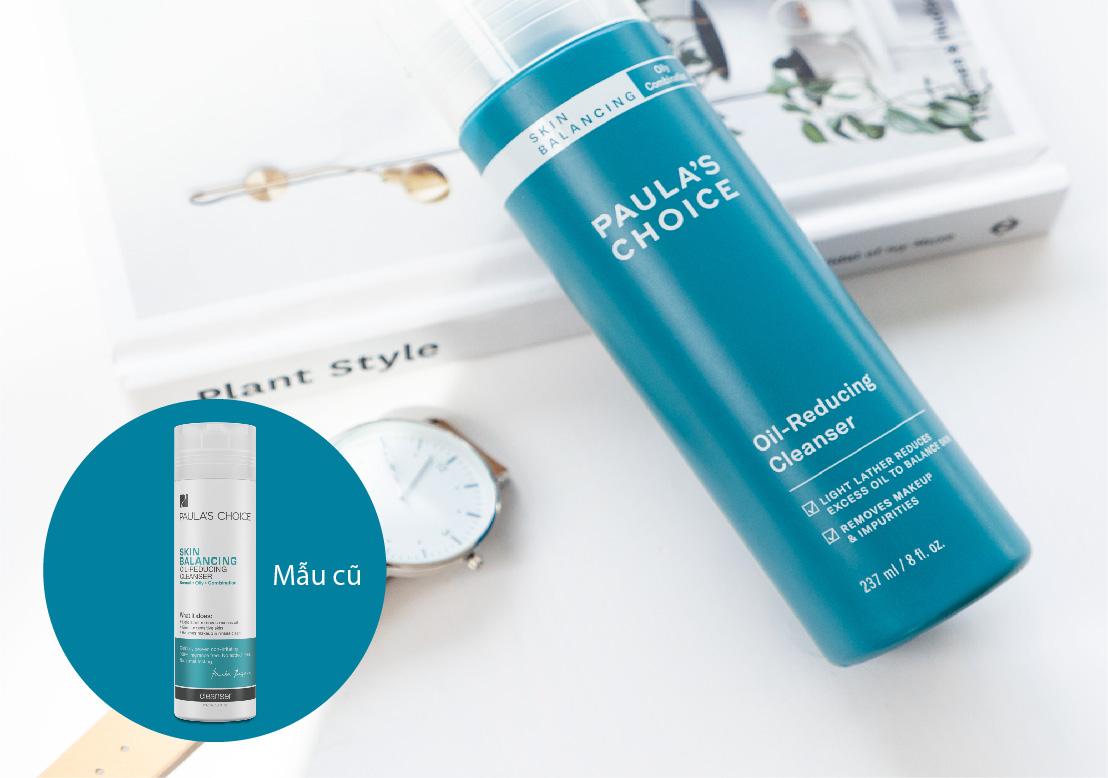 Sữa Rửa Mặt Paula's Choice Cân Bằng Ẩm, Giảm Dầu Thừa Skin Balancing Oil-Reducing Cleanser