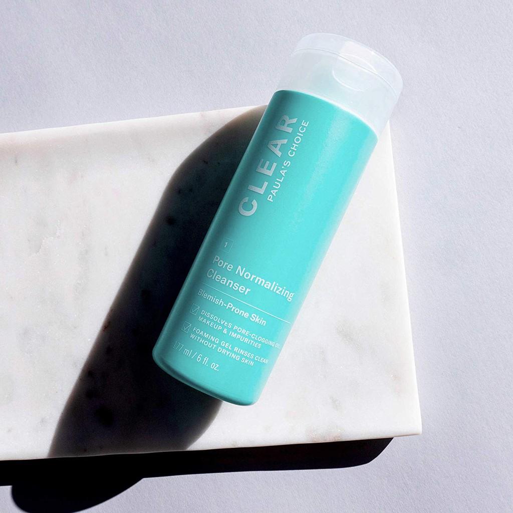 Sữa Rửa Mặt Ngừa Mụn, Se Lỗ Chân Lông Paula's Choice Clear Pore Normalizing Cleanser 177ml hiện đã có mặt tại Hasaki