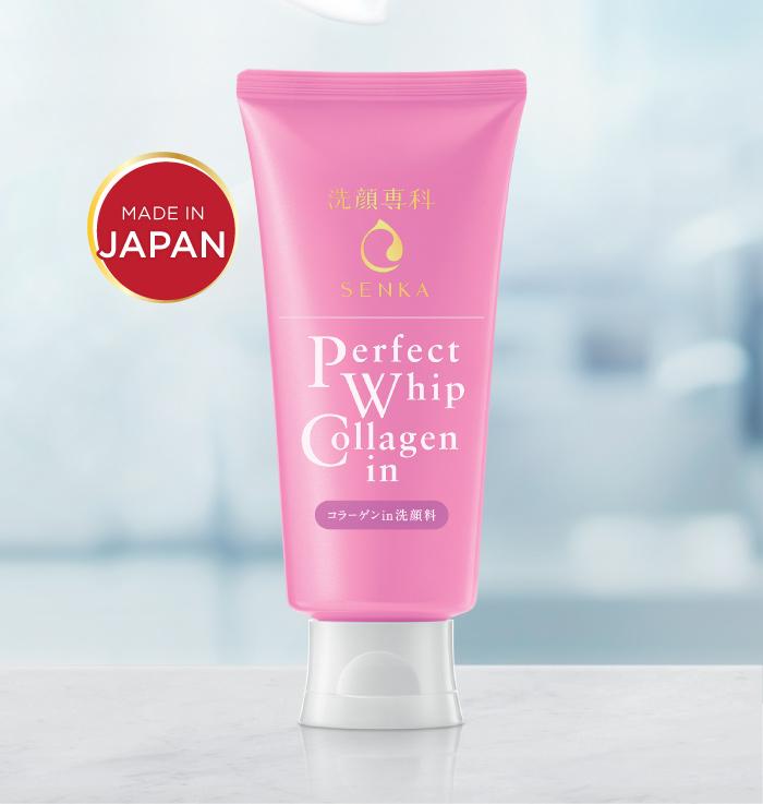 Sữa Rửa Mặt SENKA Perfect Whip Collagen In
