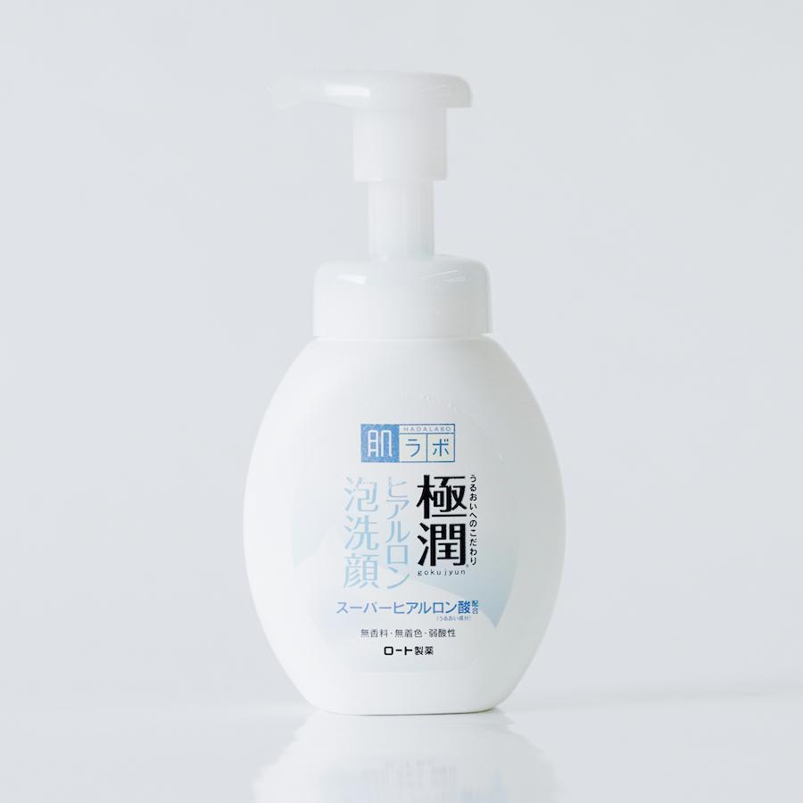 Bọt Rửa Mặt Hadalabo Dưỡng Ẩm Cho Mọi Loại Da Gokujyun Moisturizing Foaming Wash 160ml hiện đã có mặt tại Hasaki