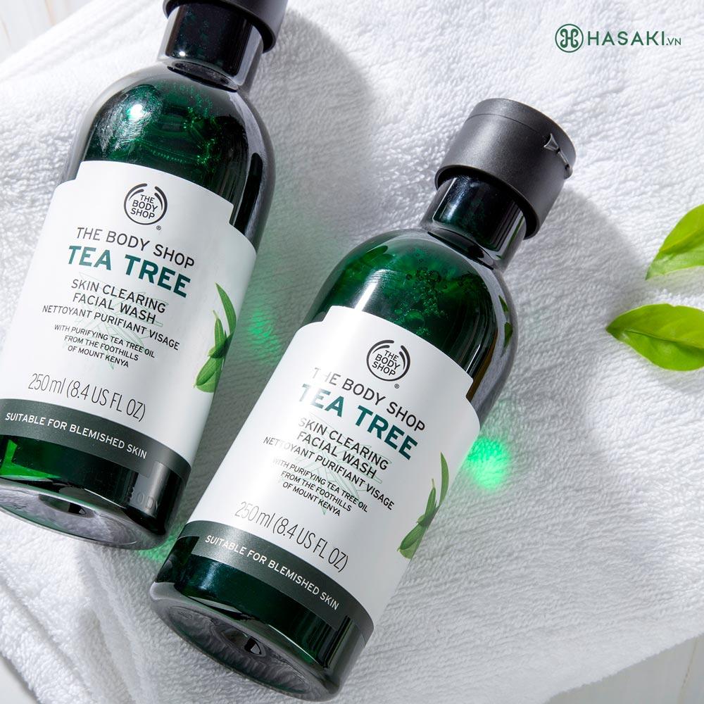 Sữa Rửa Mặt The Body Shop Tea Tree Skin Clearing Facial Wash 250ml