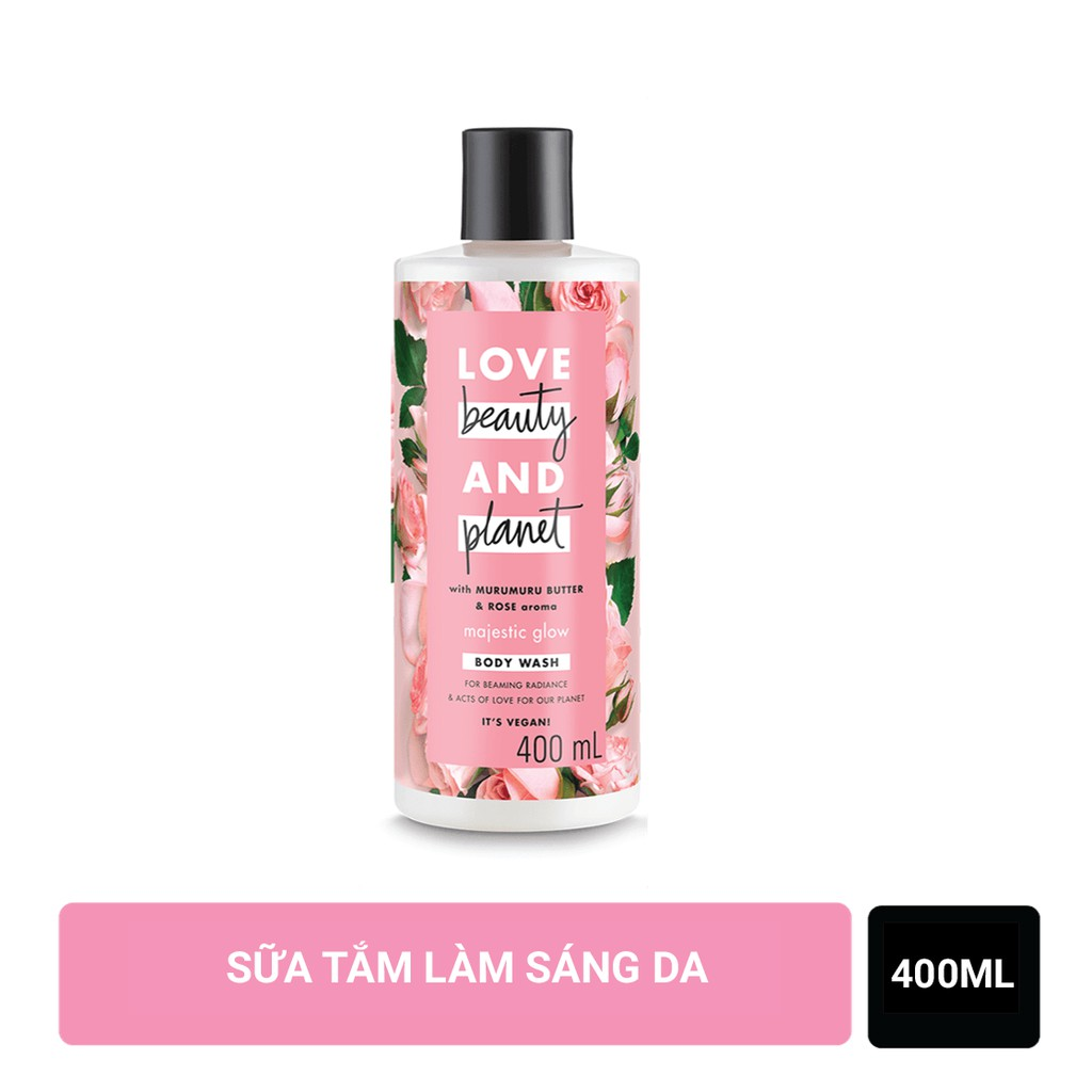 Sữa tắm Love Beauty And Planet Majectic Glow Body Wash làm sáng da