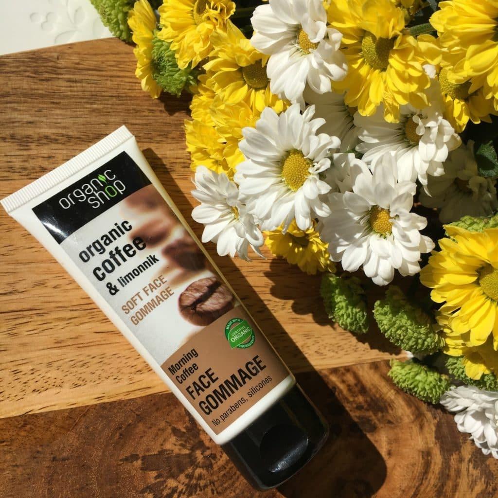 Tẩy Tế Bào Chết Cho Mặt Organic Shop Soft Face Gommage Morning Coffee mang lại làn da mềm mượt và tươi sáng