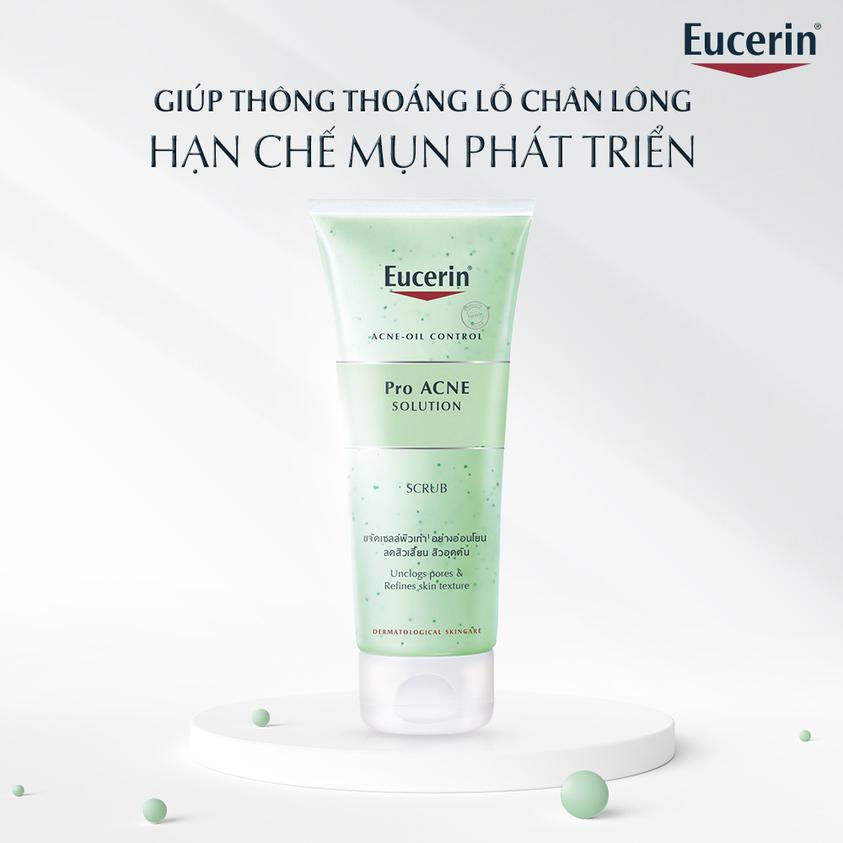 Tẩy Tế Bào Chết Eucerin Pro ACNE Solution Scrub