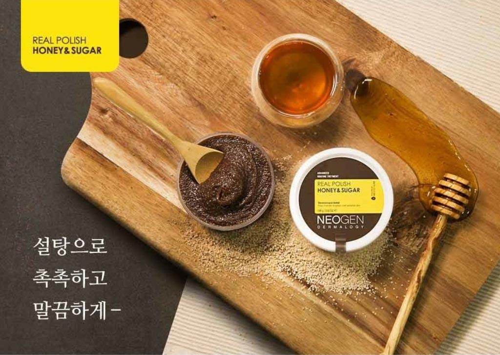 Tẩy Tế Bào Chết Neogen Dermalogy Real Polish Honey & Sugar