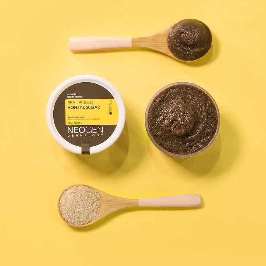Tẩy Tế Bào Chết Mật Ong & Đường Nâu Neogen Dermalogy Real Polish Honey & Sugar 100g đã có mặt tại Hasaki.