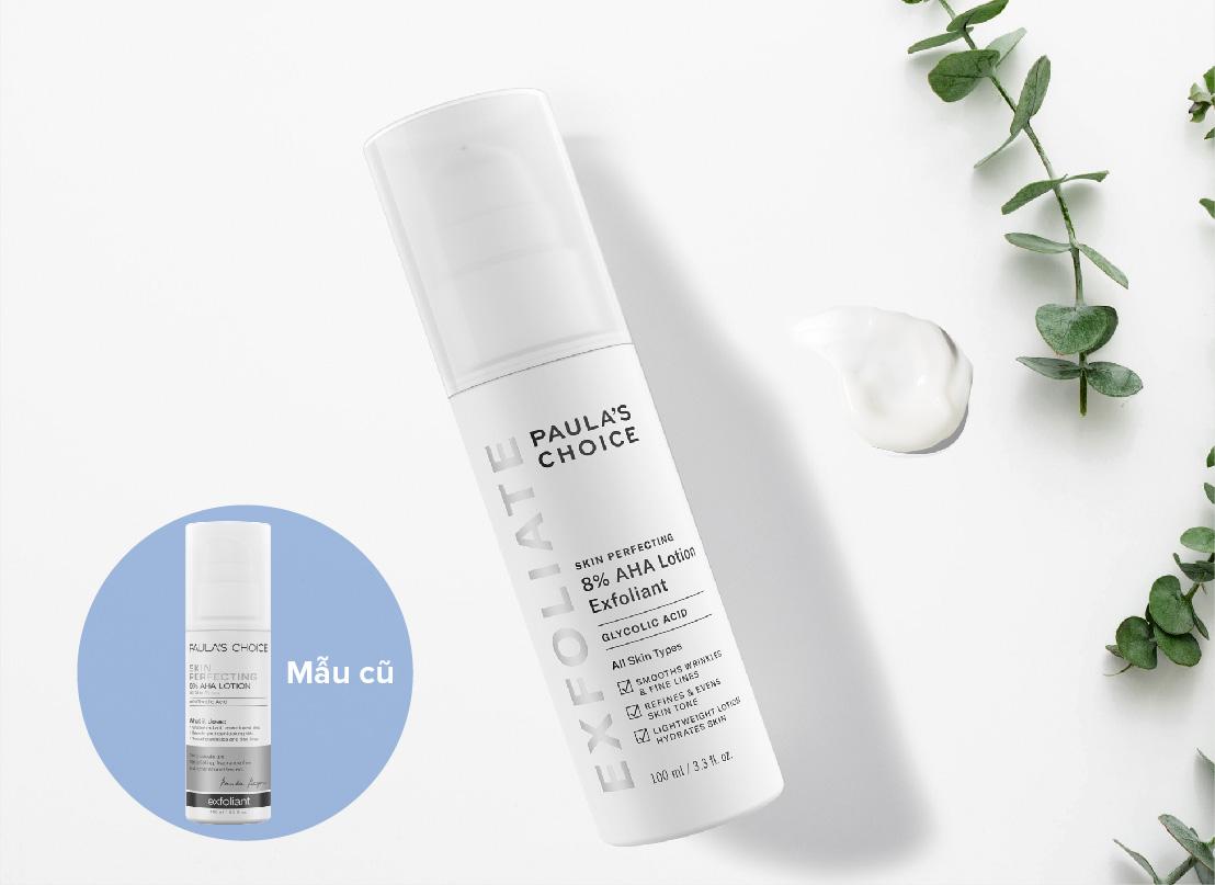 Sữa Tẩy Tế Bào Chết Paula's Choice Skin Perfecting 8% AHA Lotion