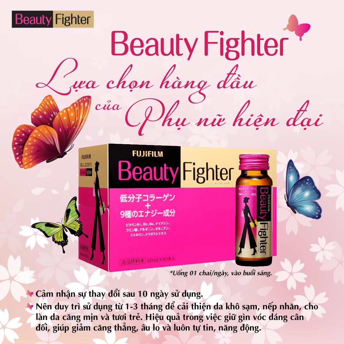 Sử dụng ASTALIFT Beauty Fighter Collagen đều đặn từ 1-3 tháng để cải thiện làn da.