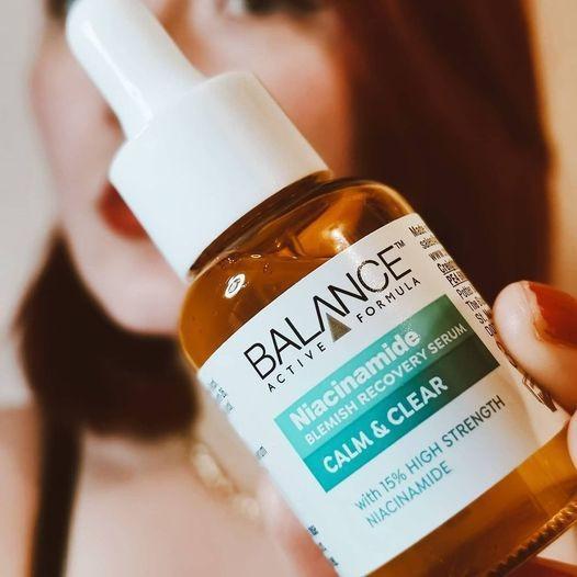 Tinh Chất Balance Active Formula Niacinamide 15% Blemish Recovery Serum điều tiết dầu thừa, hỗ trợ se khít lỗ chân lông to