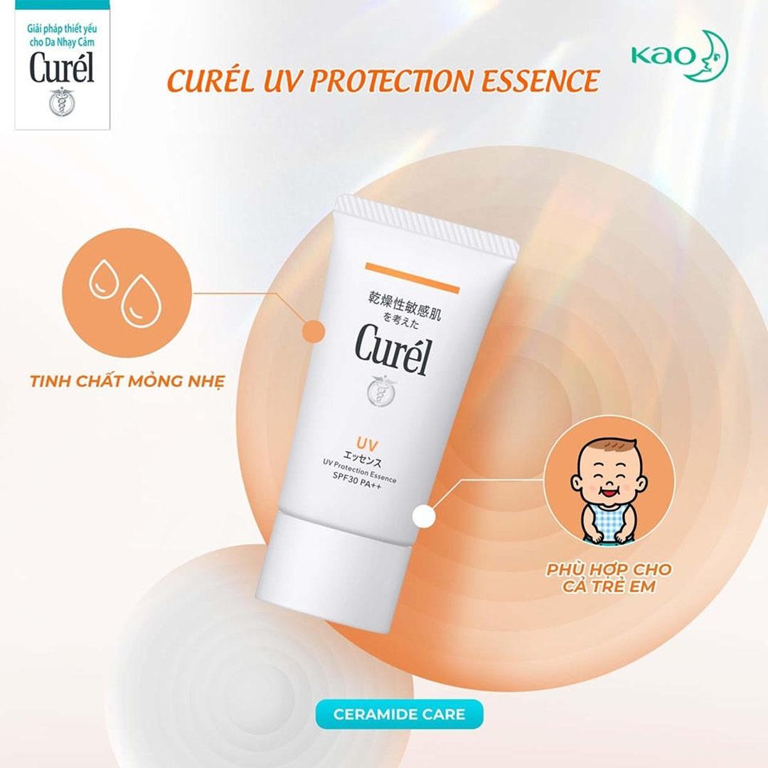 Tinh Chất Chống Nắng Curél UV Protection Essence SPF30 PA++