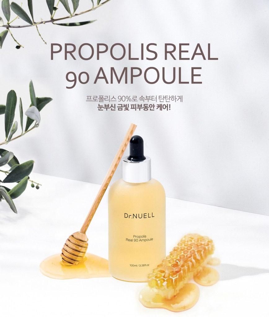 Tinh Chất Dr.NUELL Propolis Real 90 Ampoule 100ml