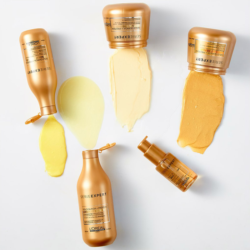 Tinh Chất Phục Hồi Hư Tổn Toàn Diện L'Oréal Professionnel Serie Expert Absolut Repair Gold Wheat Oil Serum 50ml
