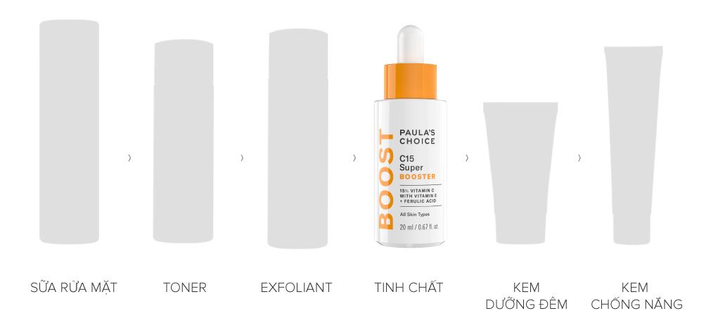 Tinh Chất Paula's Choice 15% Vitamin C Làm Sáng Da 20ml Resist C15 Super Booster
