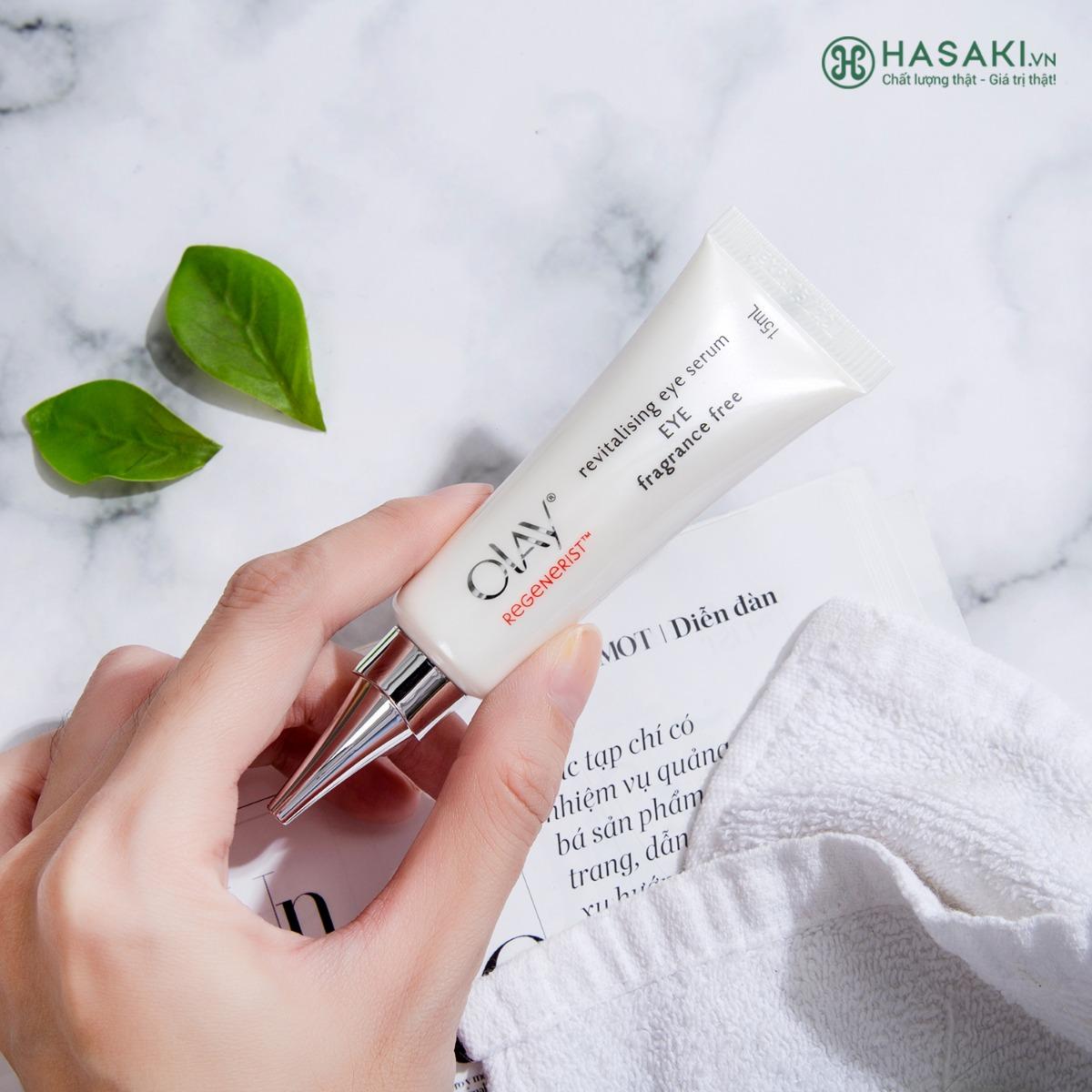 Tinh Chất Vi Dưỡng Vùng Mắt Ngừa Lão Hóa Olay Regenerist Revitalising Eye Serum Fragrance Free 15ml