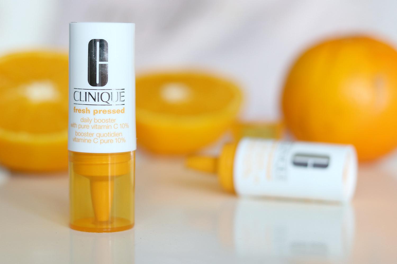 Tinh Chất Vitamin C Tươi Nguyên Chất Clinique chứa Vitamin C tinh khiết cô đặc nồng độ 10%