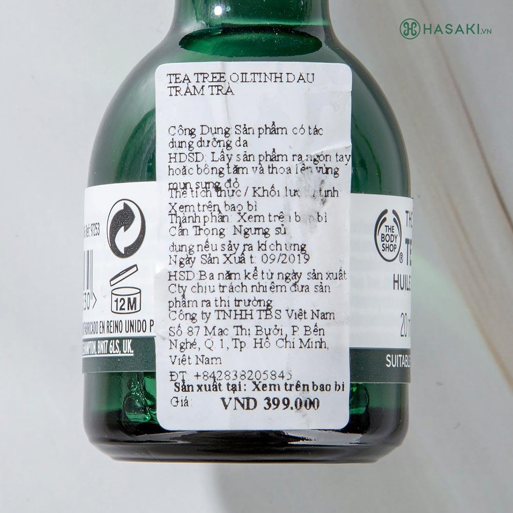 Tinh Dầu Tràm Trà The Body Shop Tea Tree Oil nhập khẩu chính hãng, giá tốt