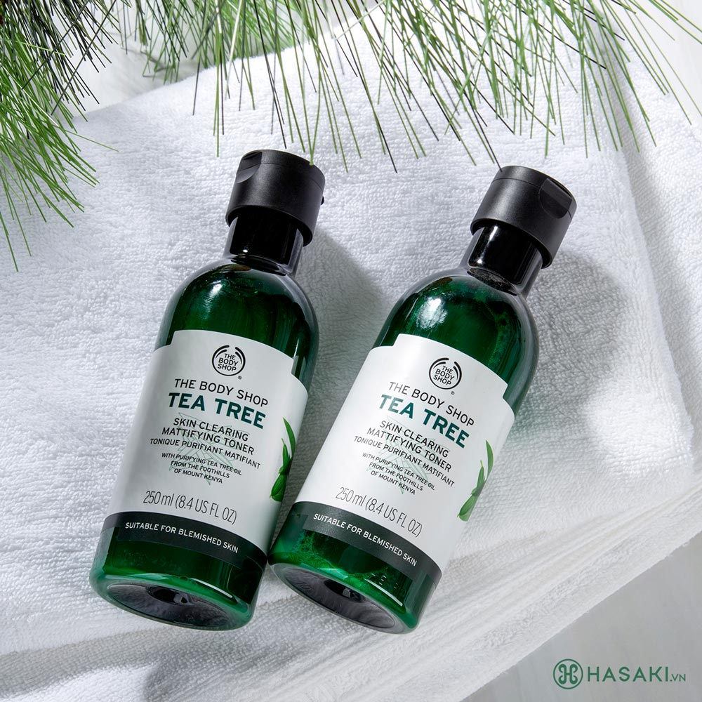 Nước Cân Bằng The Body Shop Tea Tree Skin Clearing Toner