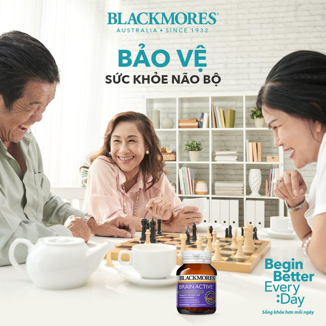 Viên Uống Blackmores Brain Active Bổ Não Tăng Cường Trí Nhớ 30 Viên hiện đã có mặt tại Hasaki