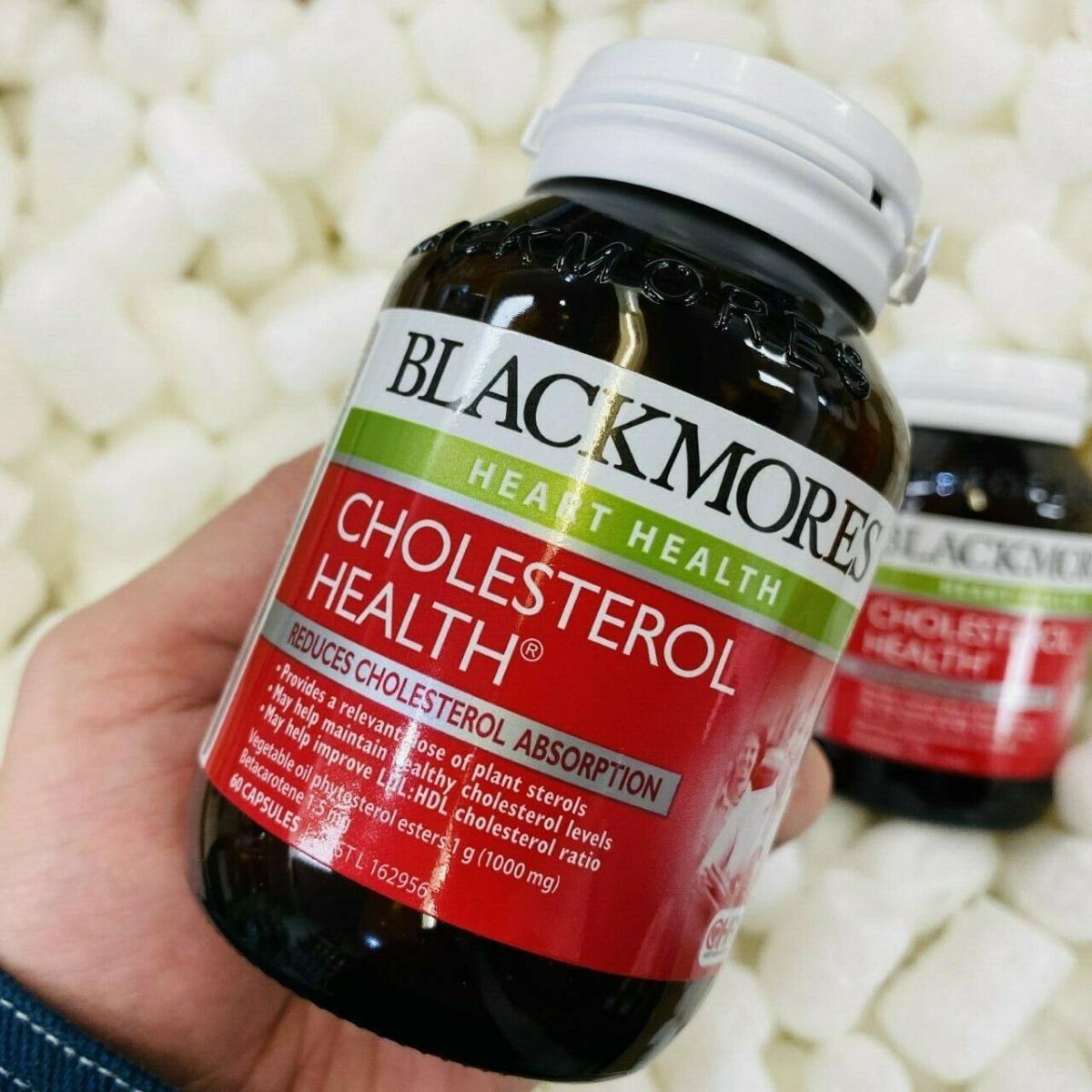 Viên Uống Blackmores Cholesterol Health Giảm Cholesterol Trong Máu 60 Viên hiện đã có mặt tại Hasaki