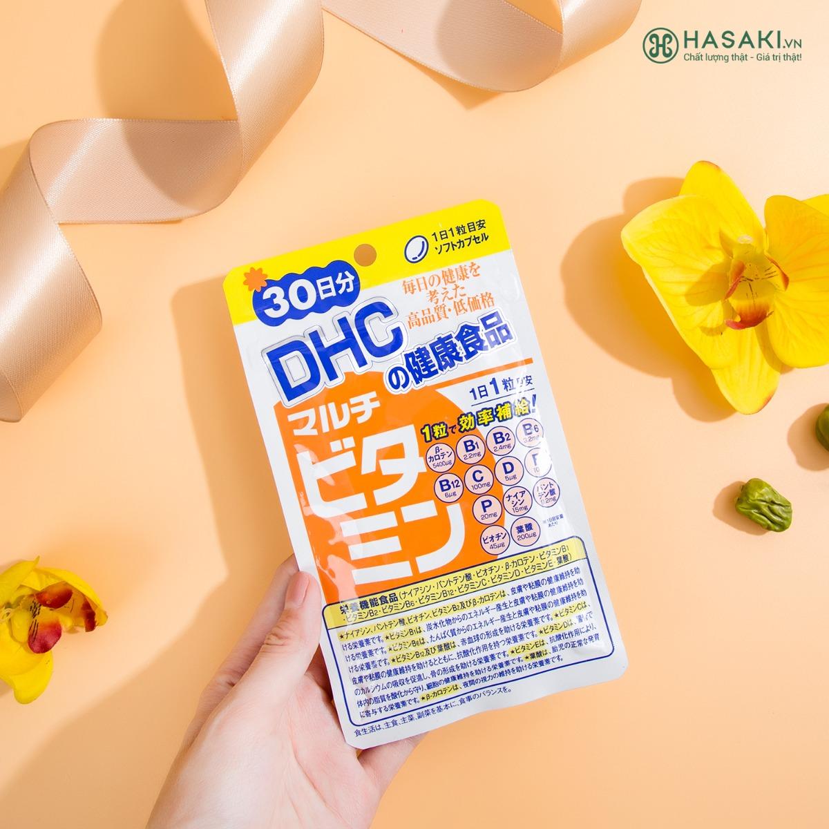 Viên Uống DHC Nhật Bản Multi Vitamin Tổng Hợp Gói 30 Viên 30 Ngày hiện đã có mặt tại Hasaki