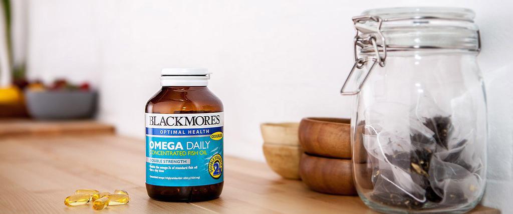 Viên Uống Dầu Cá BLACKMORES Omega Daily Concentrated Fish Oil 90 Viên