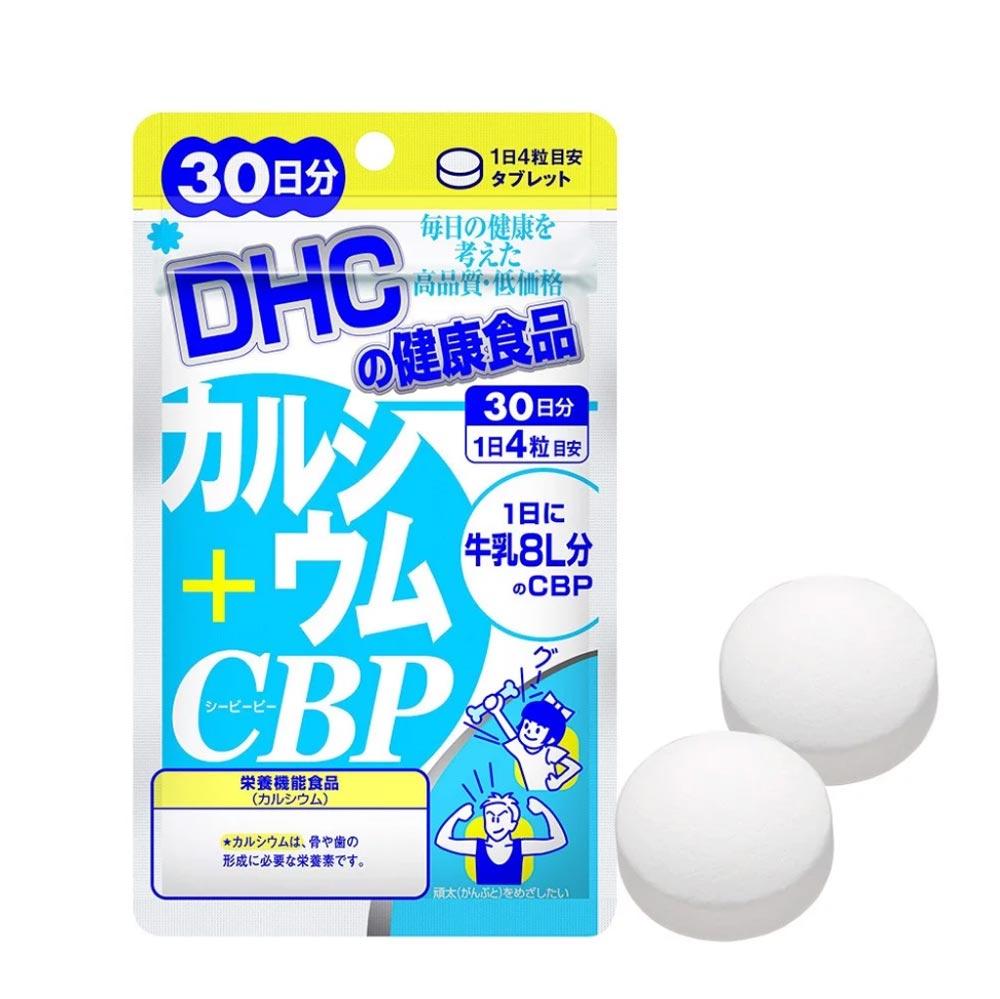 Viên Uống DHC Bổ Sung Calcium + CBP