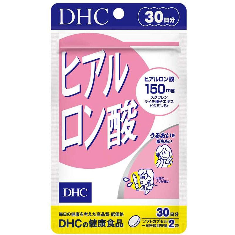 Viên Uống Giữ Ẩm Cấp Nước DHC Hyaluronic Acid