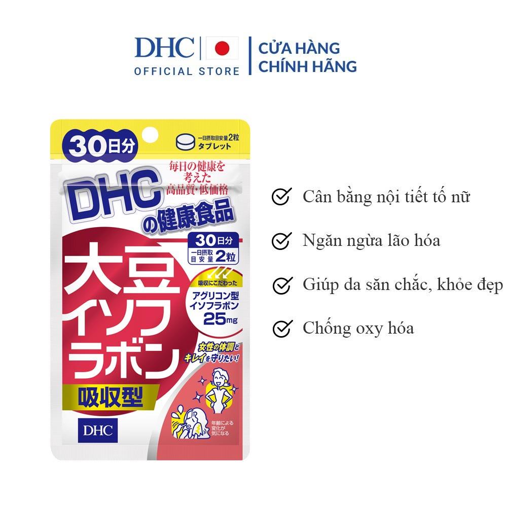 Viên Uống DHC Chiết Xuất Mầm Đậu Nành