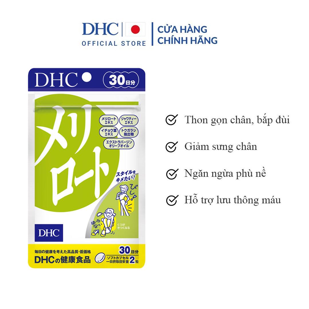 Viên Uống DHC Melilot Diet Supplement