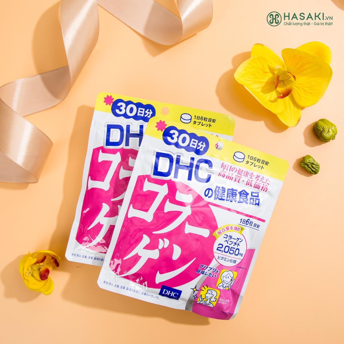 Viên Uống Làm Đẹp Da DHC Collagen Gói 180 Viên 30 Ngày