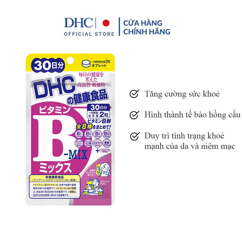 Viên Uống DHC Nhật Bản Bổ Sung Vitamin B Tổng Hợp