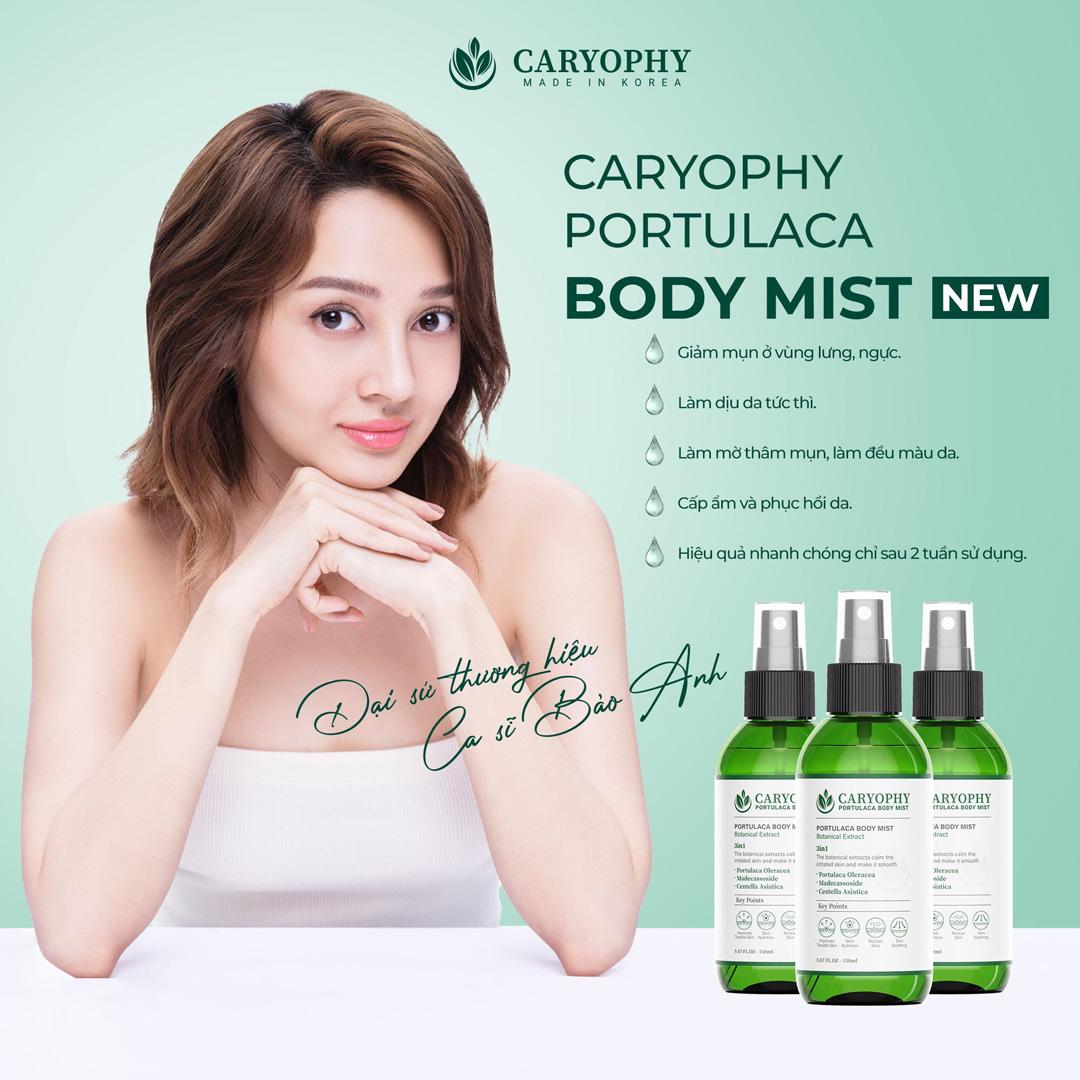 Xịt Giảm Mụn Toàn Thân Caryophy Portulaca Body Mist được nghiên cứu và kiểm định đáp ứng nhu cầu sử dụng cho mọi loại da kể cả da nhạy cảm.
