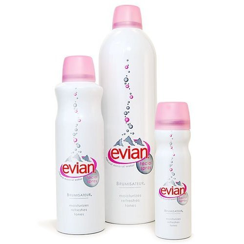 Xịt Khoáng Dưỡng Ẩm Evian Spray Brumisateur Natural Mineral Water