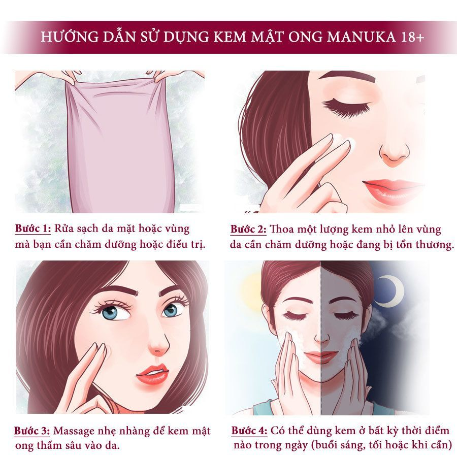 Kem Mật Ong Thâm Mụn 18+ Skin Health