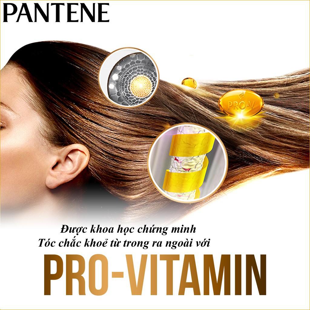 dầu gội patene ngăn rụng tóc với pro vitamin