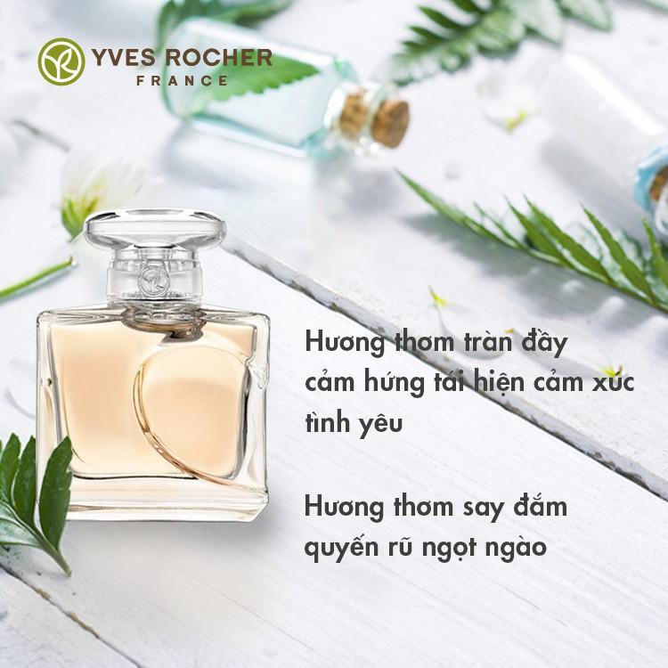 Nước Hoa Nữ Yves Rocher Mini EDP Quelques Note d'Amour 5ml độc đáo, quyến rũ
